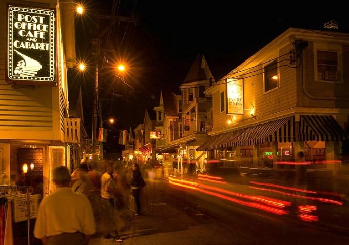 Commercial St. Nightscene