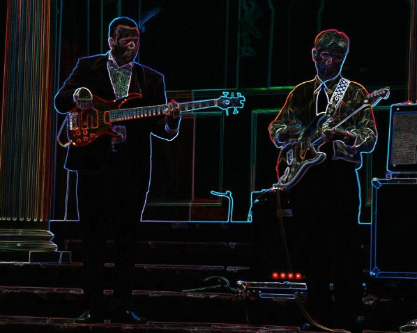 Pave Musicians with Glowing Edges