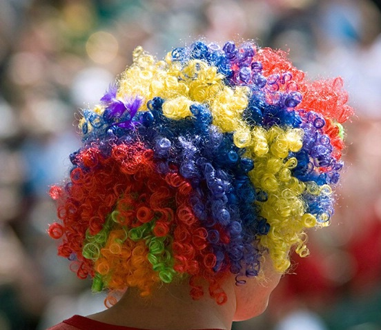 Wild Hair Day - Rugby Sevens