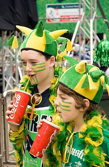 Patriotic Supporters - Rugby Sevens