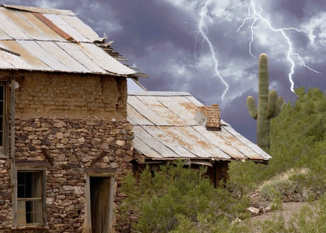 Vulture City ghost town Arizona