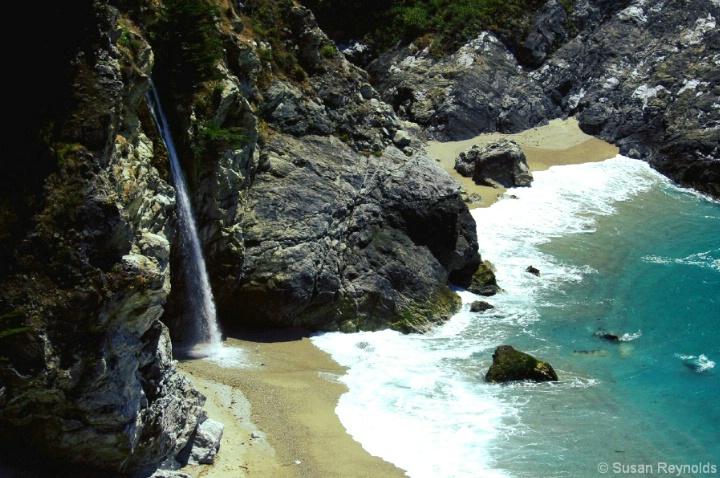 Julia Pfeiffer Beach, CA