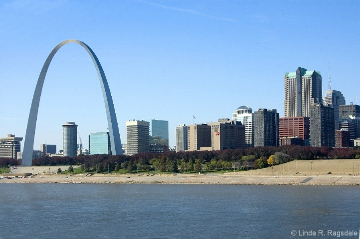 St. Louis Riverfront with Arch