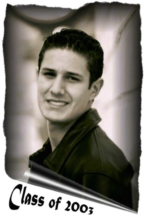 William Vincent Alexander Reynolds - Class of 2003