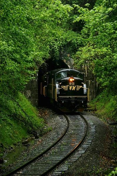 WM #82 BL-2, Kelly Mt Tunnel, Elkins, WV