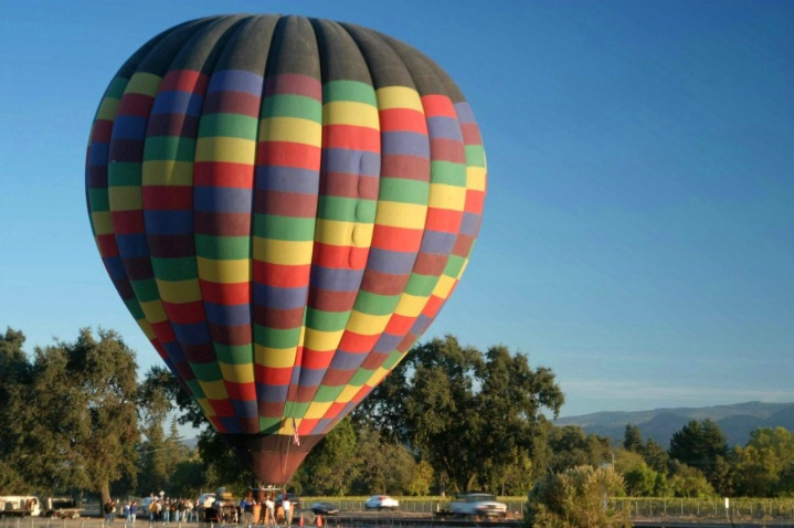 Up and Away  in Napa