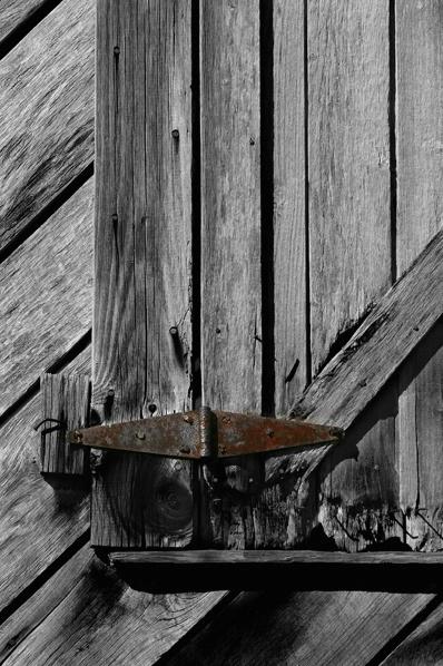 Old Rusty Hinge
