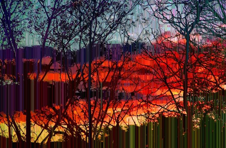 Cubism Sunset
