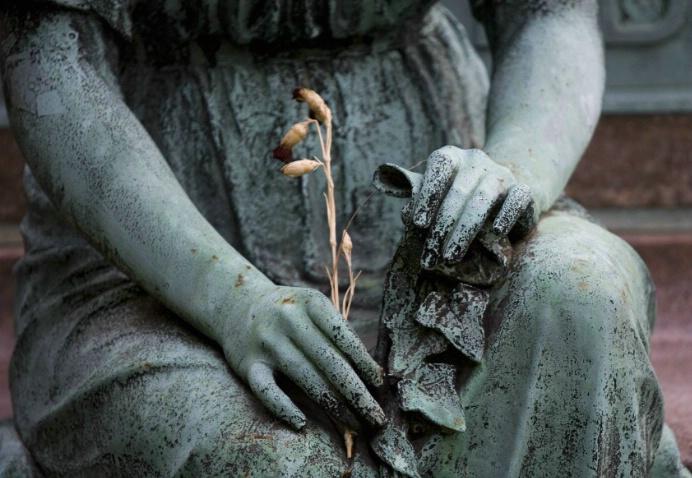 Still Life, Green-Wood Cemetery, Brooklyn, NY