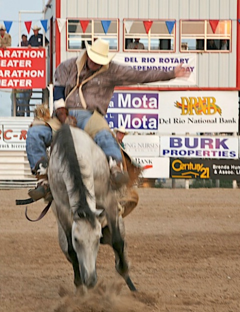 My last image before being stompped at Rodeo