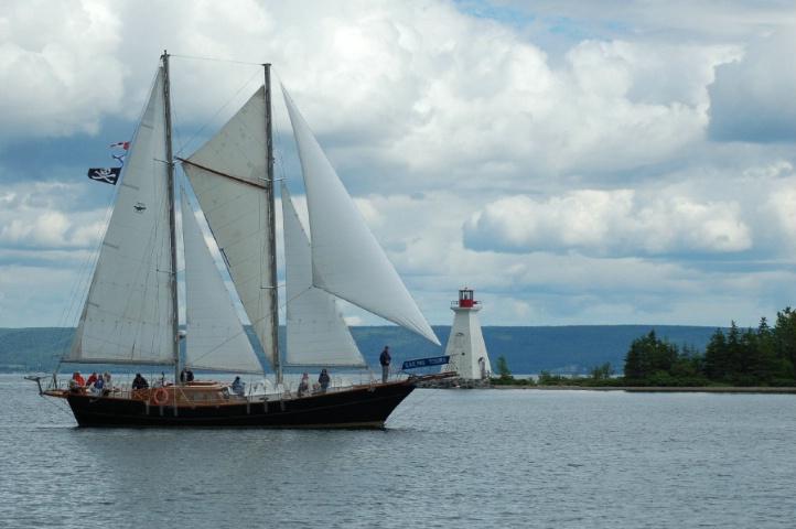 Big Sails in Nova Scotia