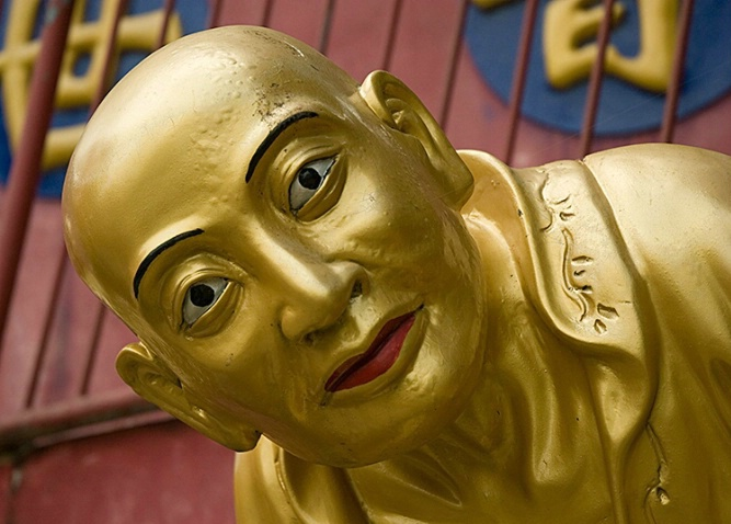 Focussed, 10000 Buddhas