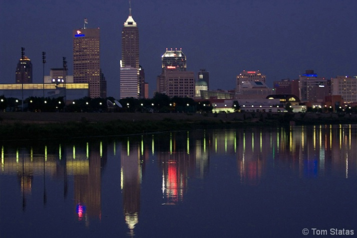 White River Reflection