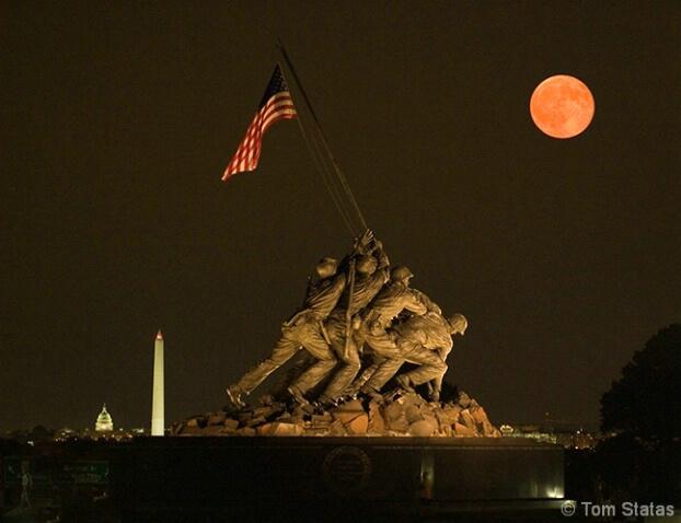 Iwo Jima Moonrise