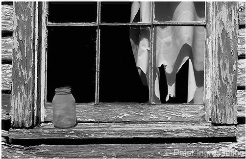 Jar On Window Sill