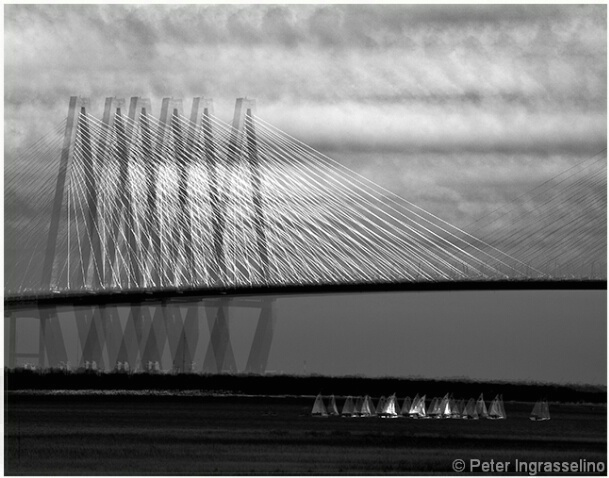 Ravenel Bridge Abstract #1