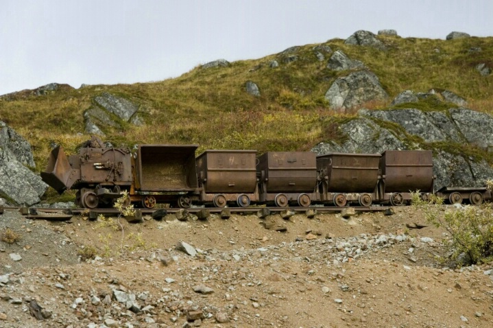Independence Mine ghost town