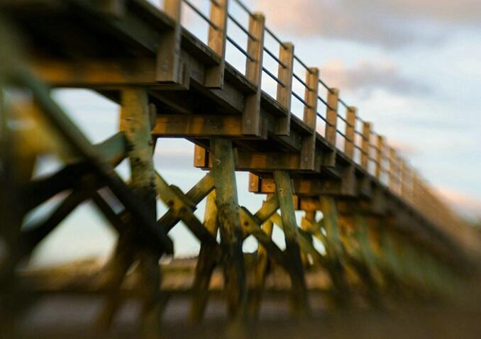 Blurred Pier