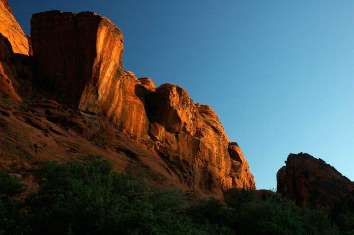 Snow Canyon - sunrise