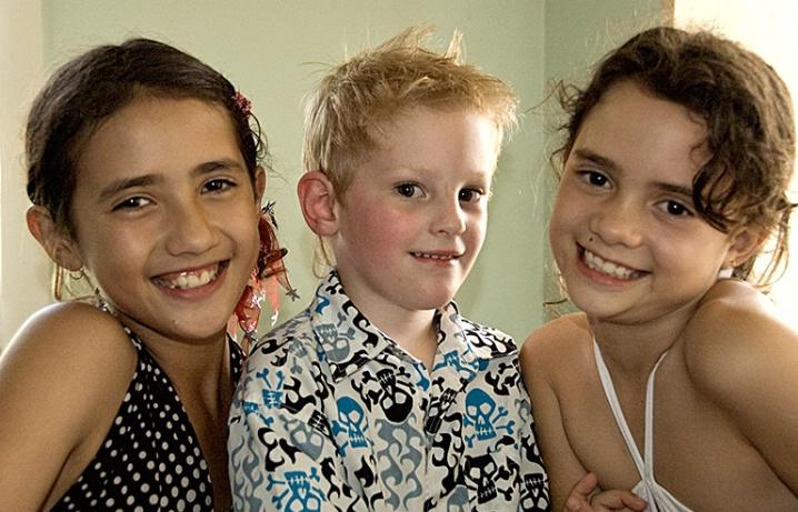 Tashani, Ned & Monaya