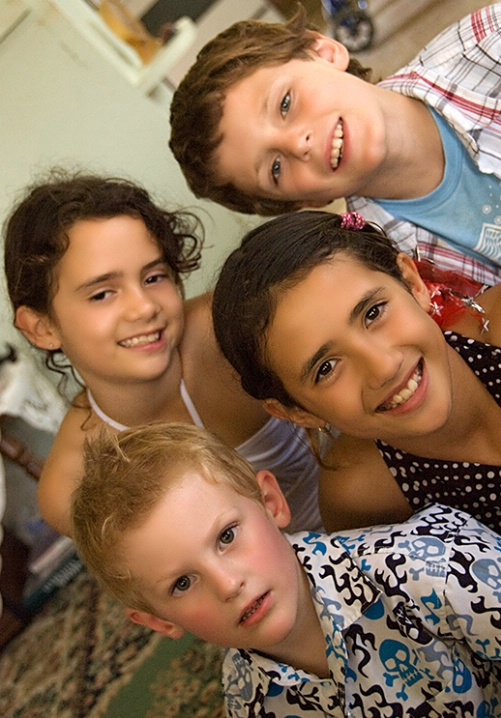 Monaya, Aaron, Tashani,  & Ned