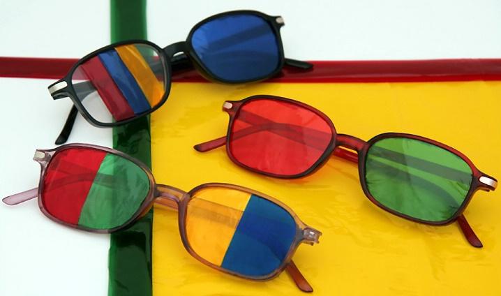 """All Coloured  Glasses"""