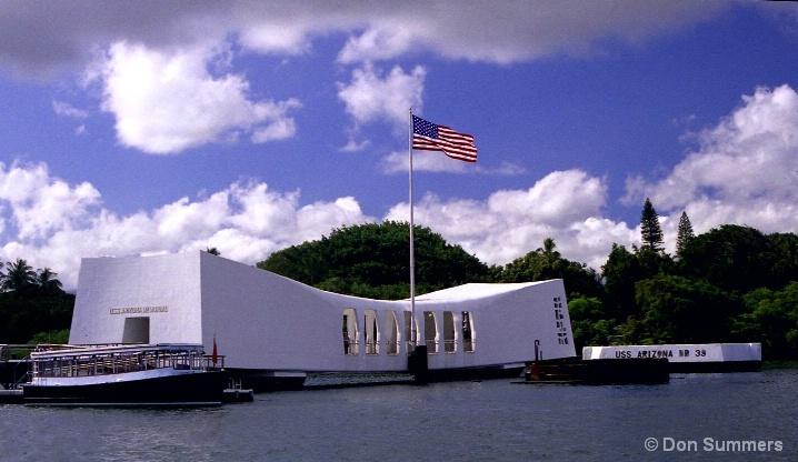 USS Arizona Memorial, Pearl Harbor, HI 2006
