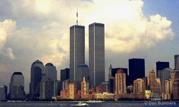 World Trade Center and Battery, NY 1997