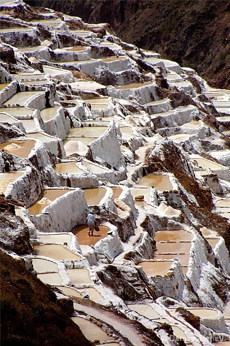 Mining Salt in Peru