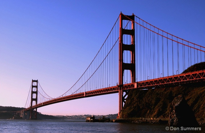 Golden Gate Bridge Early Morning 2007