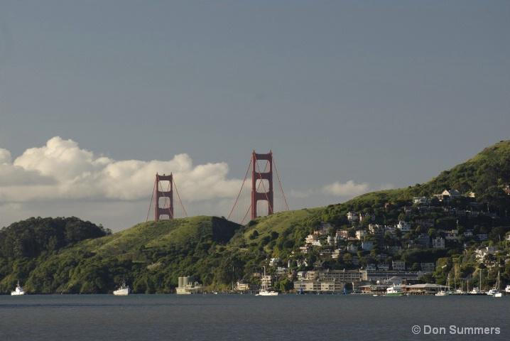 Sausalito and Bridge Towers