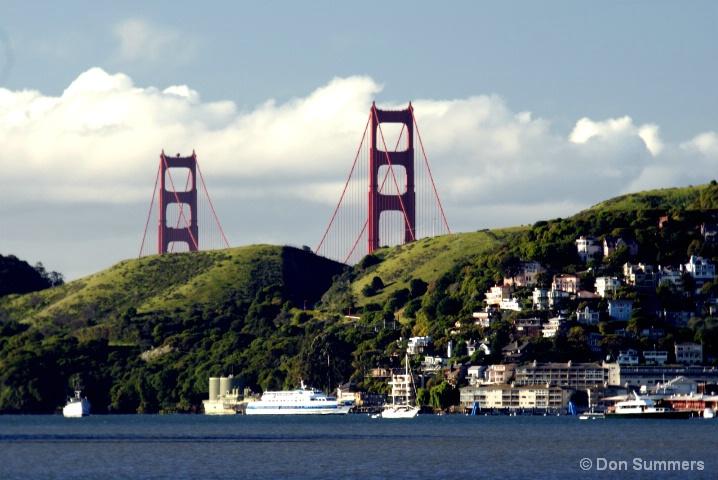 Golden Gate Bridge Towers 2007