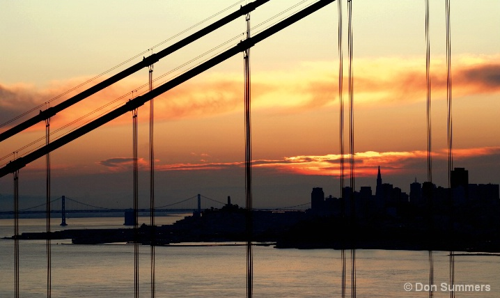 Sunrise Through The Cables 2007