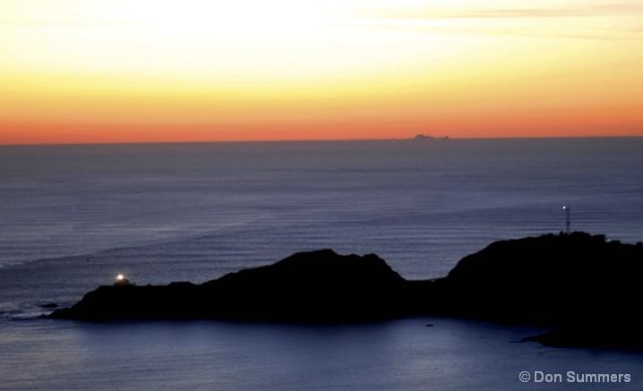 Point Bonita, CA Sunset 2007