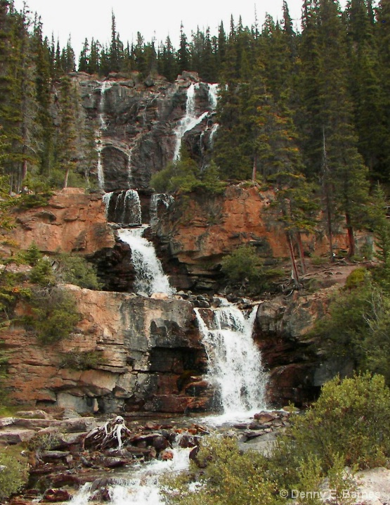 Stanley Falls, Icefields Parkway-Canada