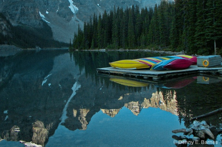 Moraine Lake, Banff National Park-Canada