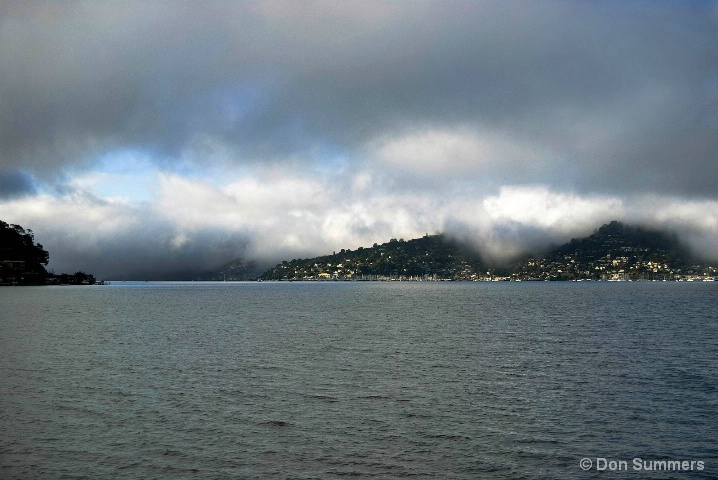 Fog Over Sausalito, CA 2007