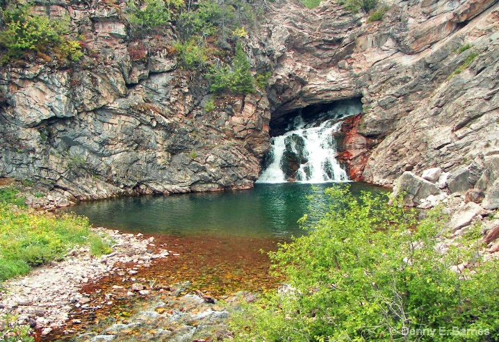 Running Eagle Falls-Trick Falls, Montana