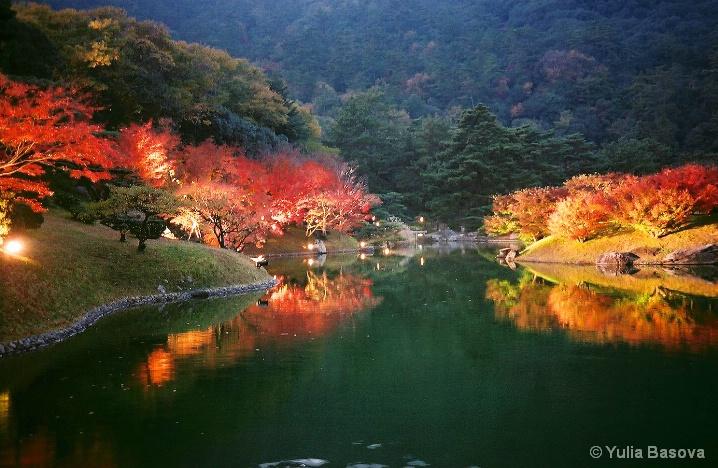 Autumn night spectacle