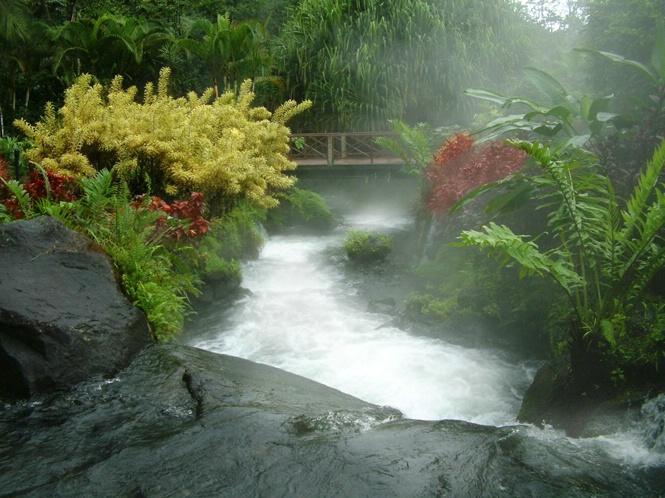 Tabacon Resort Hot Springs River