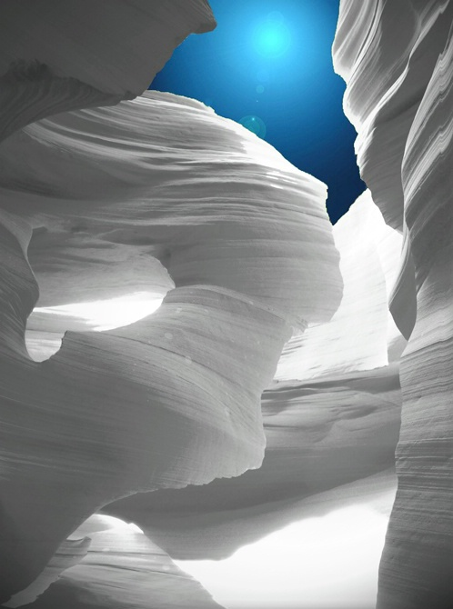 Altered Antelope Canyon