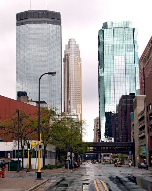 Down Town MPLS.