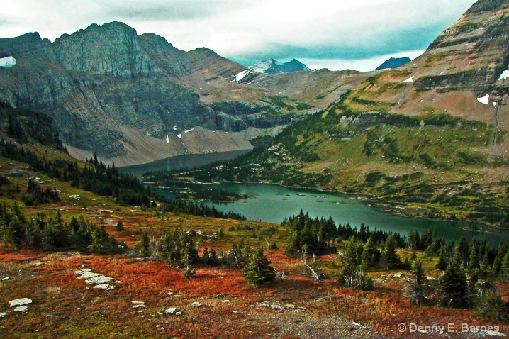 Hidden Lake,  Glacier NP-Montana
