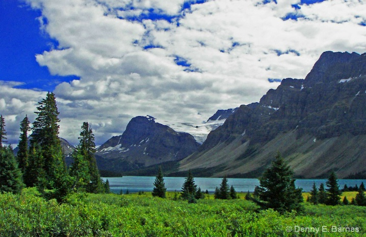 Bow Lake, Banff National Park-Canada