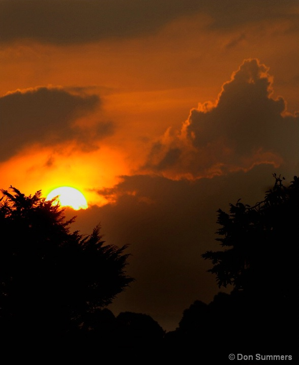 Sunset, Butare, Rwanda 2007