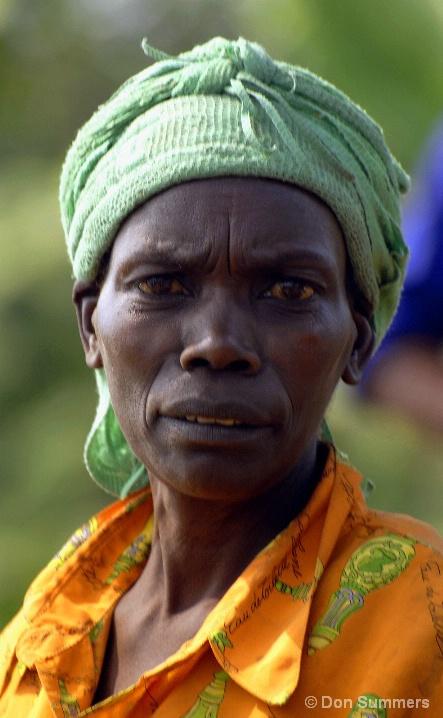 Tired Woman, Butare, Rwanda 2007