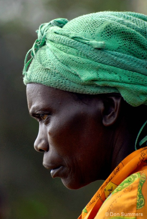 Contemplative, Butare, Rwanda 2007