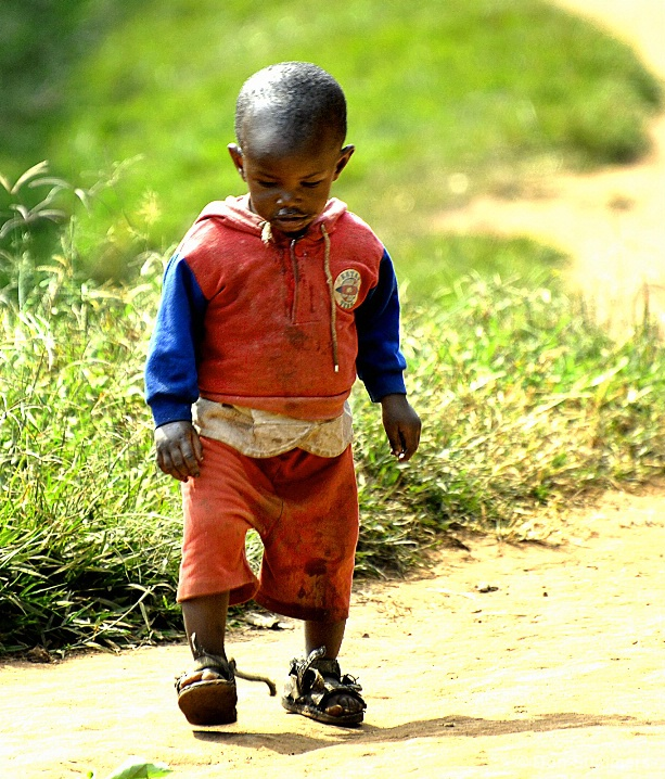 One Step At A Time, Butare, Rwanda 2007
