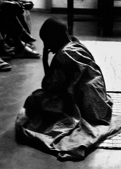 Child In Prayer, Butare, Rwanda 2007