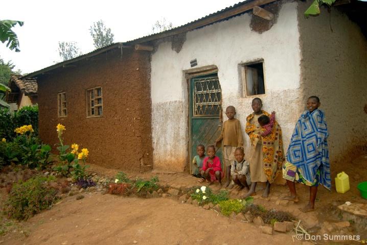Children At Home, Butare, Rwanda 2007
